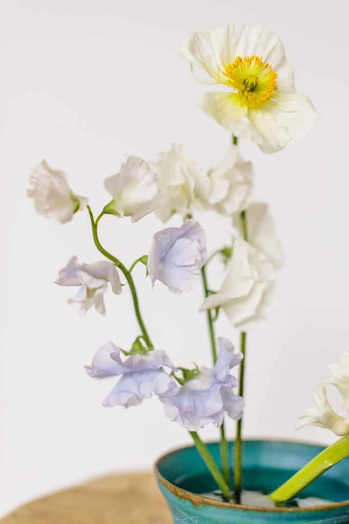 Minimalist Ikebana Flower Arrangement from Hello Glow