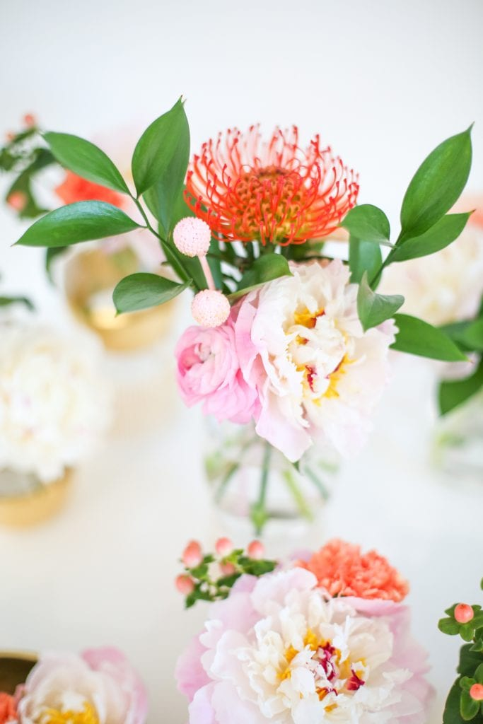 Simple Floral Arrangements from Lovely Indeed