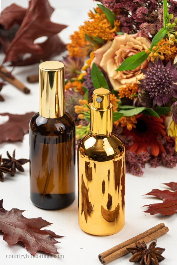 DIY fall essential oil room spray