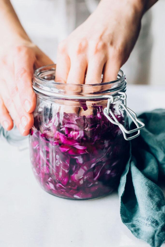 How To Make Red Cabbage Sauerkraut