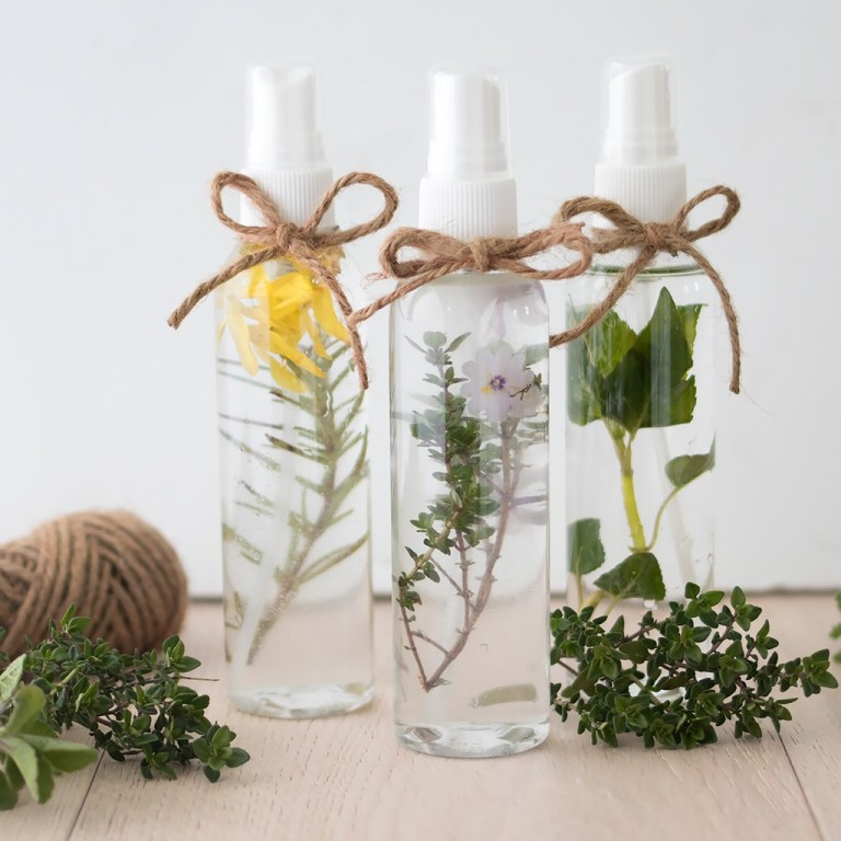 How to Make Essential Oil Room and Linen Spray from Gina Michele