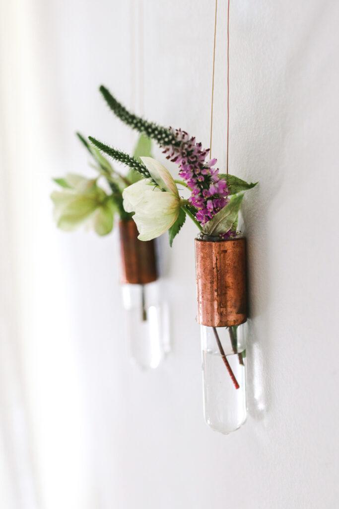 DIY Bud vases