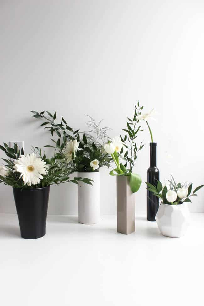 Modern Flower Arrangements for Spring from Love Create Celebrate
