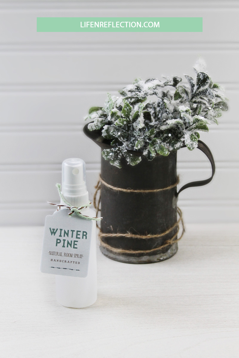 Winter Pine Room Spray from Life N Reflection