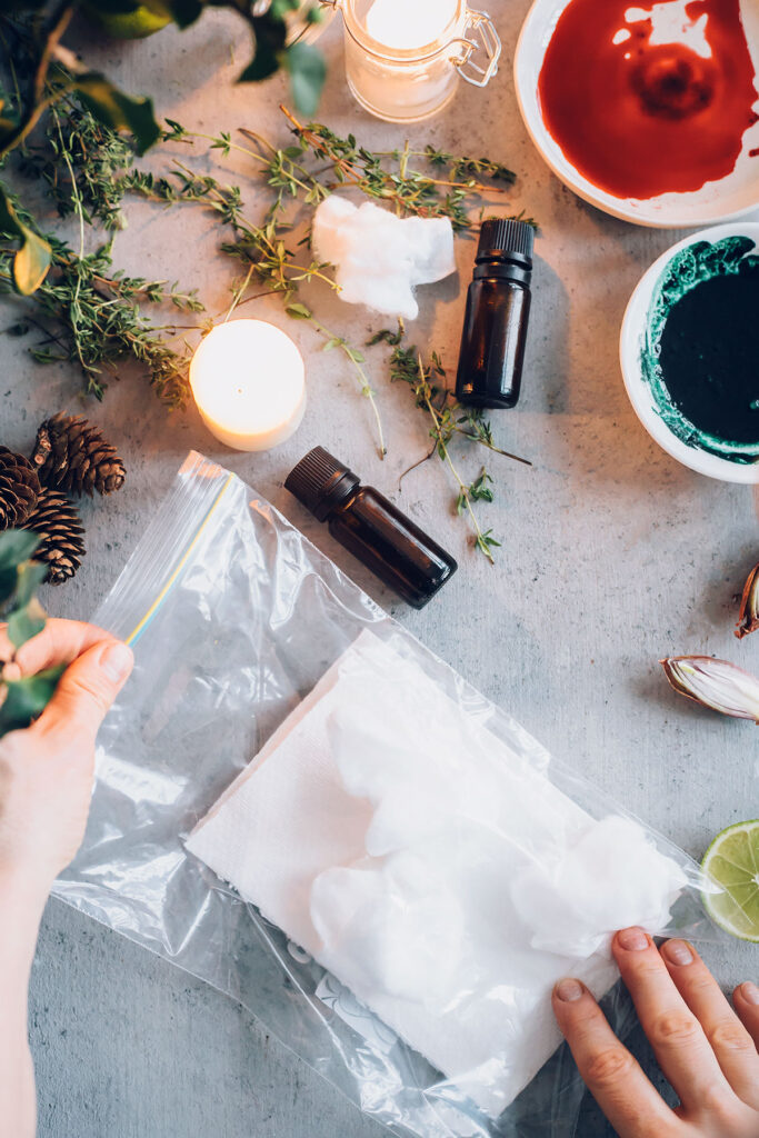 HOW TO INFUSE PAPER WITH ESSENTIAL OILS