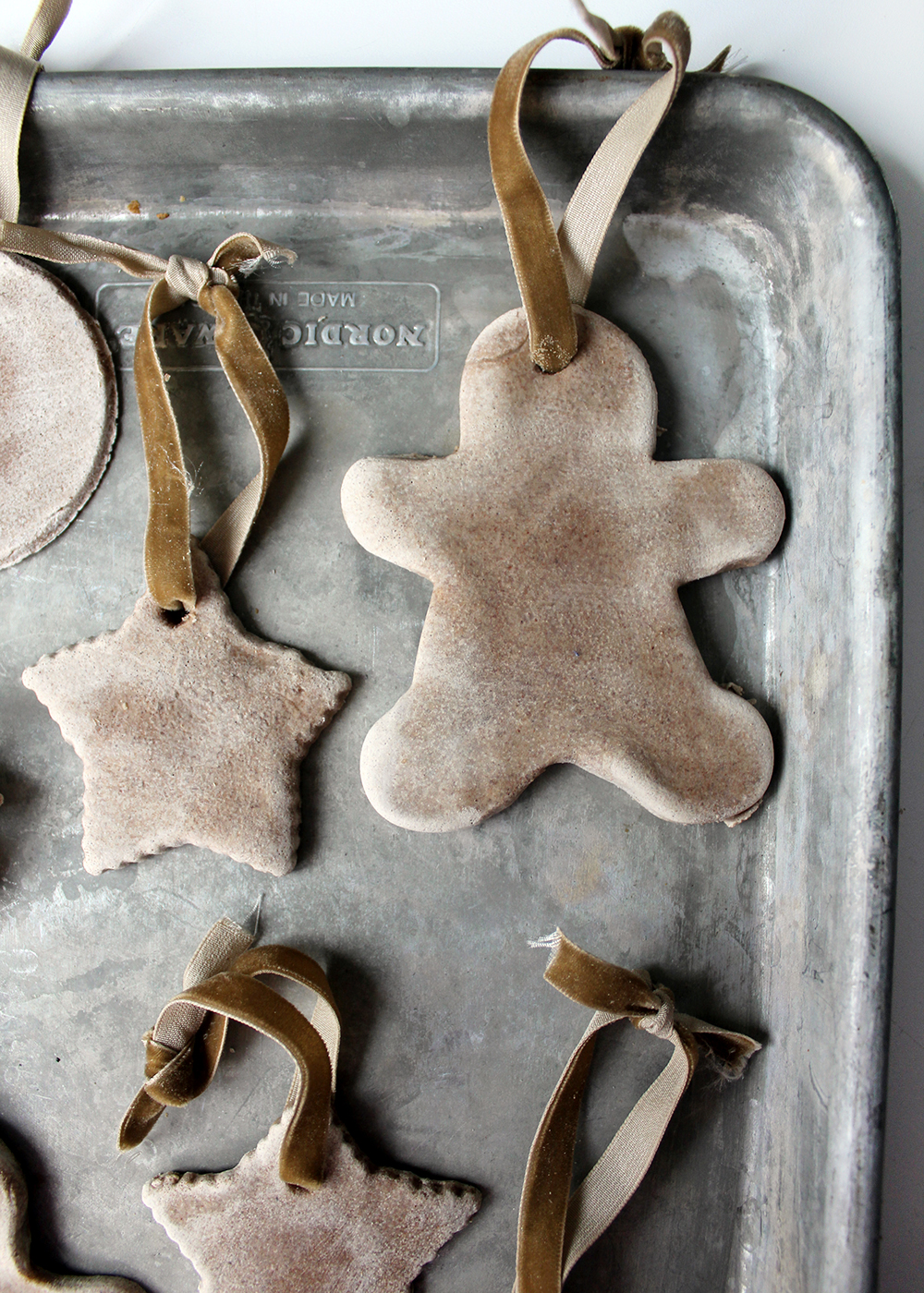 Salt Dough Ornaments With Cinnamon & Maple Ginger Tea from Tag & Tibby