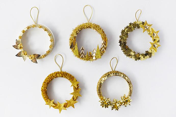 Five Golden Rings from Handmade Charlotte