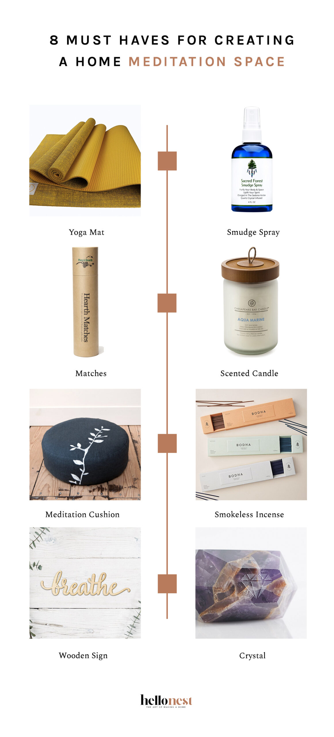 8 Must Haves For Creating a Home Meditation Space - HelloNest.co