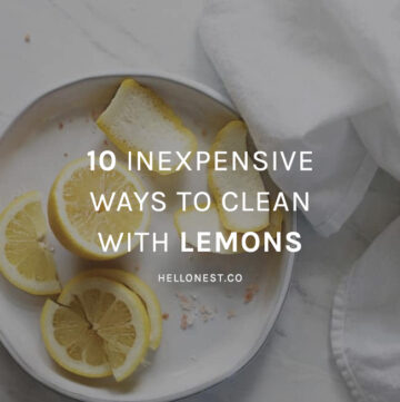 10 Inexpensive Ways to Clean With Lemons - HelloNest.co