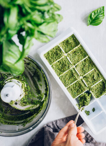 Frozen Pesto Recipe