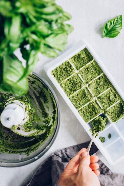 Frozen Pesto Recipe