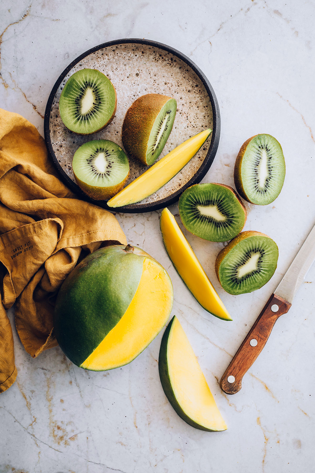 Mango Kiwi Ingredients