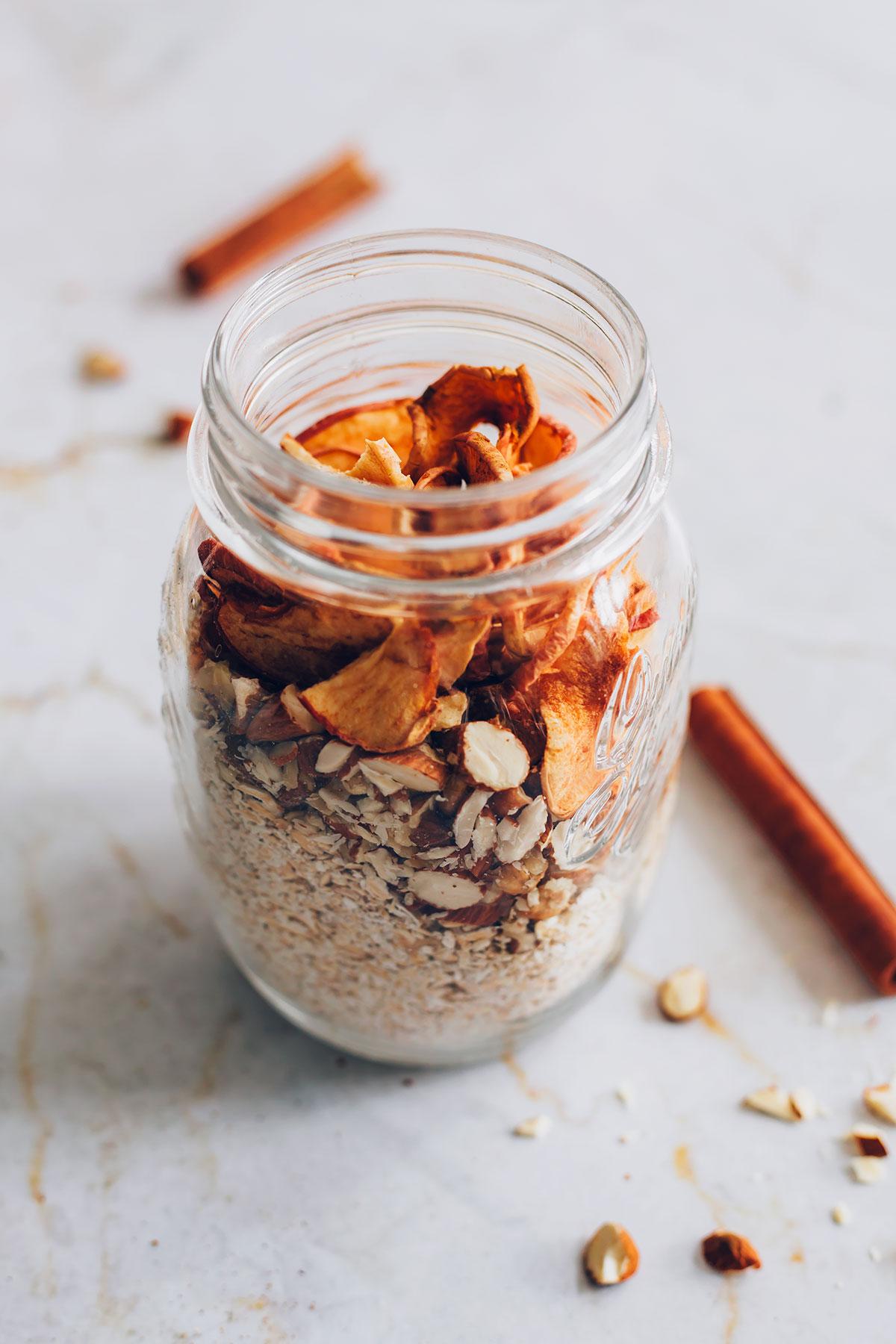 Cinnamon Apple DIY Instant Oatmeal