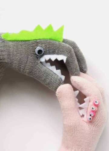 Monster Puppet Gloves